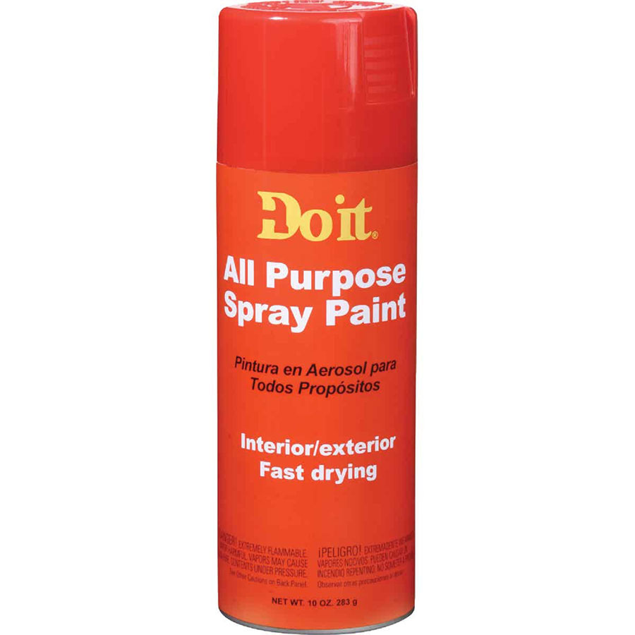 203304 (770329) RED A/P SPRAY PAINT