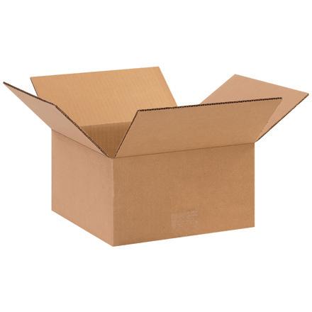 10x10x5 32ECT Kraft RSC Carton 25/bundle