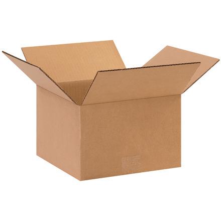 10x10x6 32ECT Kraft RSC Carton 25/bundle