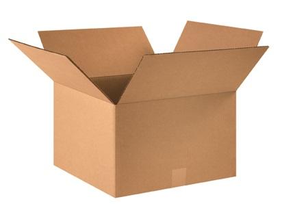16x16x10 32ECT Kraft RSC Carton 25/bundle