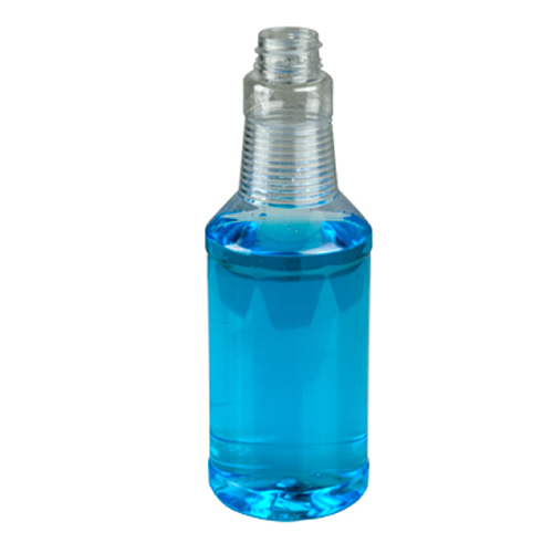 16oz PET Clear Bottle 28/400 Neck Finish