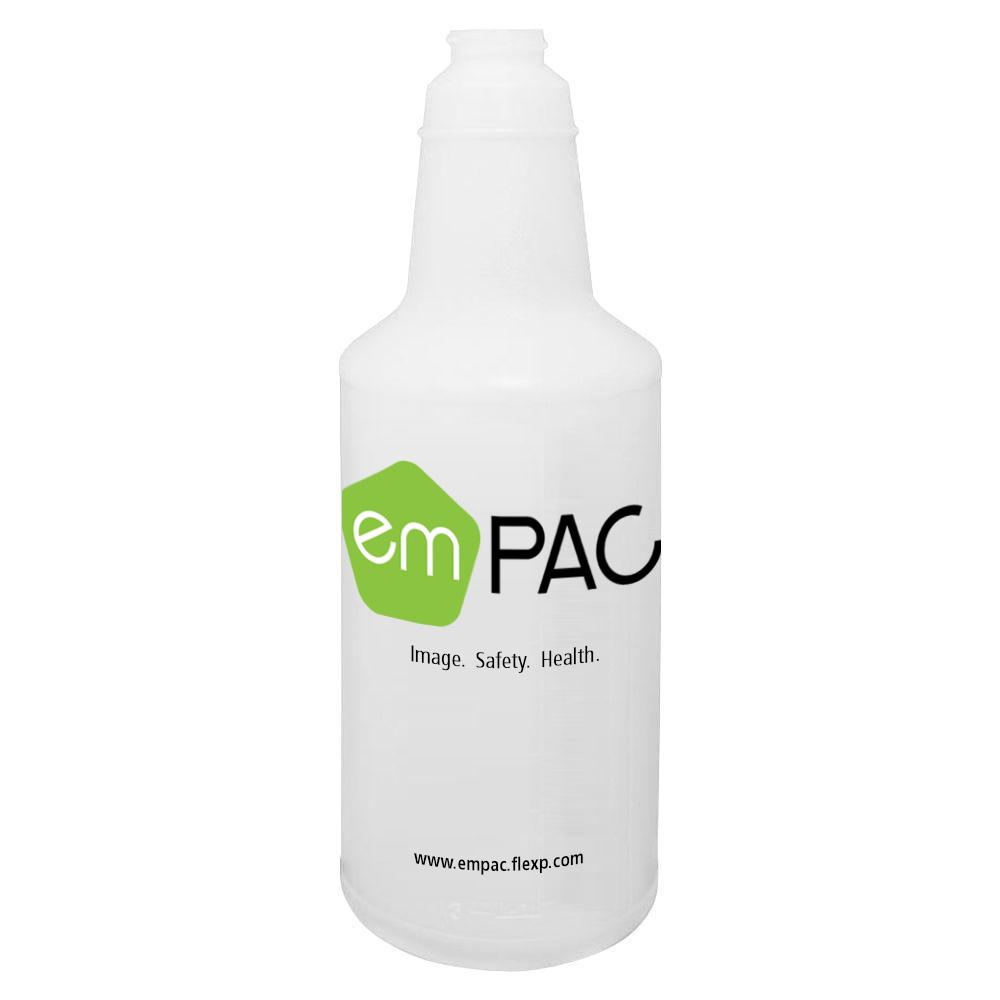 32oz Empac Natural Spray Bottle 28/400 Neck Finish 96/cs