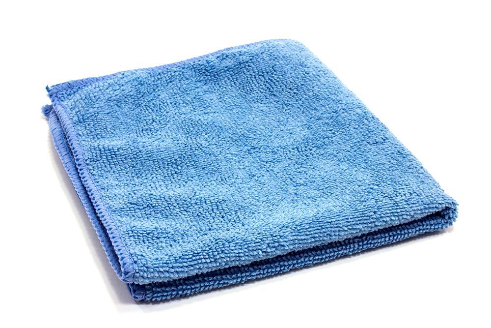 12x12 Blue General Purpose Cleaning Microfiber Cloth 12/pk 24pk/cs