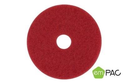 17in Empac Red Buffer Floor Pad 5/cs