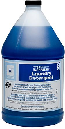 #3 CLF Laundry Detergent 1gal 4/cs