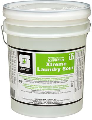 #17 CLF Xtreme Sour Laundry Neutralizer 5gal/pl