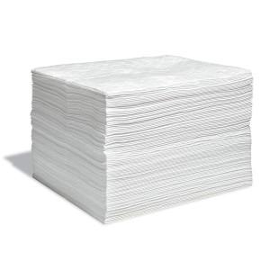 15x18 Pad White Oil Only Contractor Meltblown Non Bonded Grade 100/pk