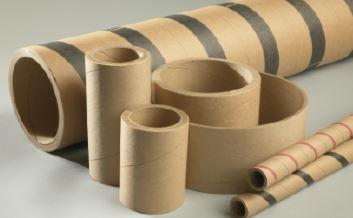 .585x.075x1 Kraft Tape Waste Tube